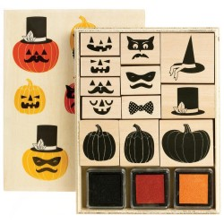 Martha Stewart Animal Masquerade Halloween stamp set