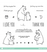 Mama Elephant BEAR HUGS stamps