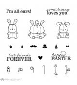 Mama Elephant HONEY BUNNY stamp set