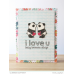 Mama Elephant SKETCHY LETTERS stamp set