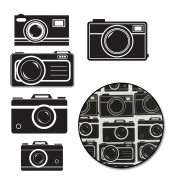 Maya Road Diecut Transparencies PICTURE PERFECT CAMERAS