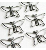 Maya Road Vintage Trinket Clips SOAR BUTTERFLY