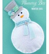 Memory Box Plush Bundled snowman die set