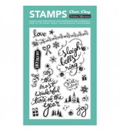October Afternoon Silent Night stamp