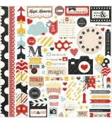 Simple Stories Say Cheese Fundamentals Stickers 12x12
