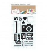 Simple Stories Snapshots stamp set