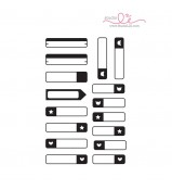 Studio L2E LABEL IT planner stamp set