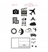 Studio L2E Rate It stamp set