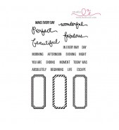 Studio L2E BEAUTIFUL LIFE stamp set