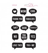 Studio L2E SPEAK stamp set