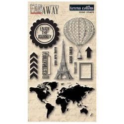 Teresa Collins Far & Away Stamp set