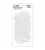 Tim Holtz Layered Stencil BUBBLE  THS 002