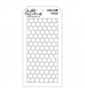 Tim Holtz Layered Stencil HONEYCOMB THS 005