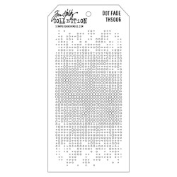 Tim Holtz Layered Stencil DOT FADE  THS 006