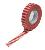 Trendy Tape -  Skinny Minnie - Red Stripe