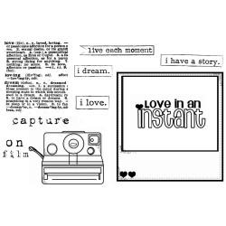 Unity Stamps Insta Live, Love, Dream