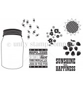 Unity Stamps: Jar Of Sunshine