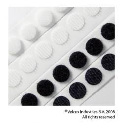 "Velcro Dots Black 3/8"" 25 pairs"