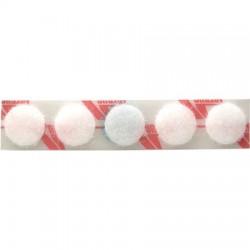 """Velcro Dots White 3/8"""" 25 pairs"""