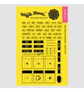 Waffle Flower Stay Focused Planner stamp set