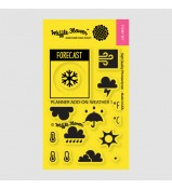 Waffle Flower Planner Weather 1 stamp set