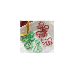 Webster's Pages A Christmas Story Trees & Bows paperclips