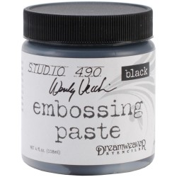 Embossing Paste BLACK by Wendy Vecchi Studio 490