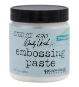Embossing Paste CLEAR by Wendy Vecchi Studio 490 translucent